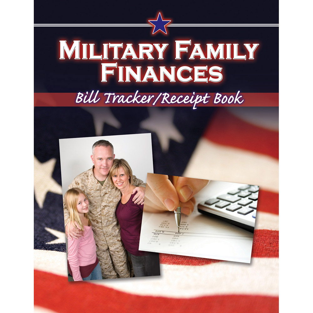 Military Family Finances: (10 Pack) Bill Tracker/Receipt Book