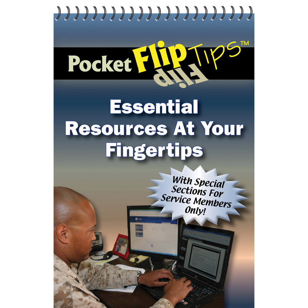 Pocket Flip Tip Book: (10 Pack) Essential Resources at your Fingertips