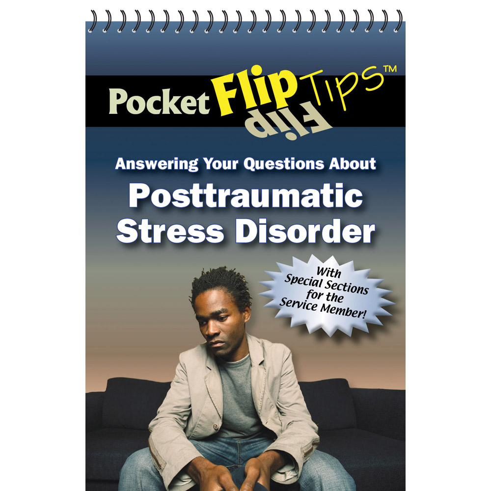 Pocket Flip Tip Book: (10 Pack) Answering Your Questions About PTSD