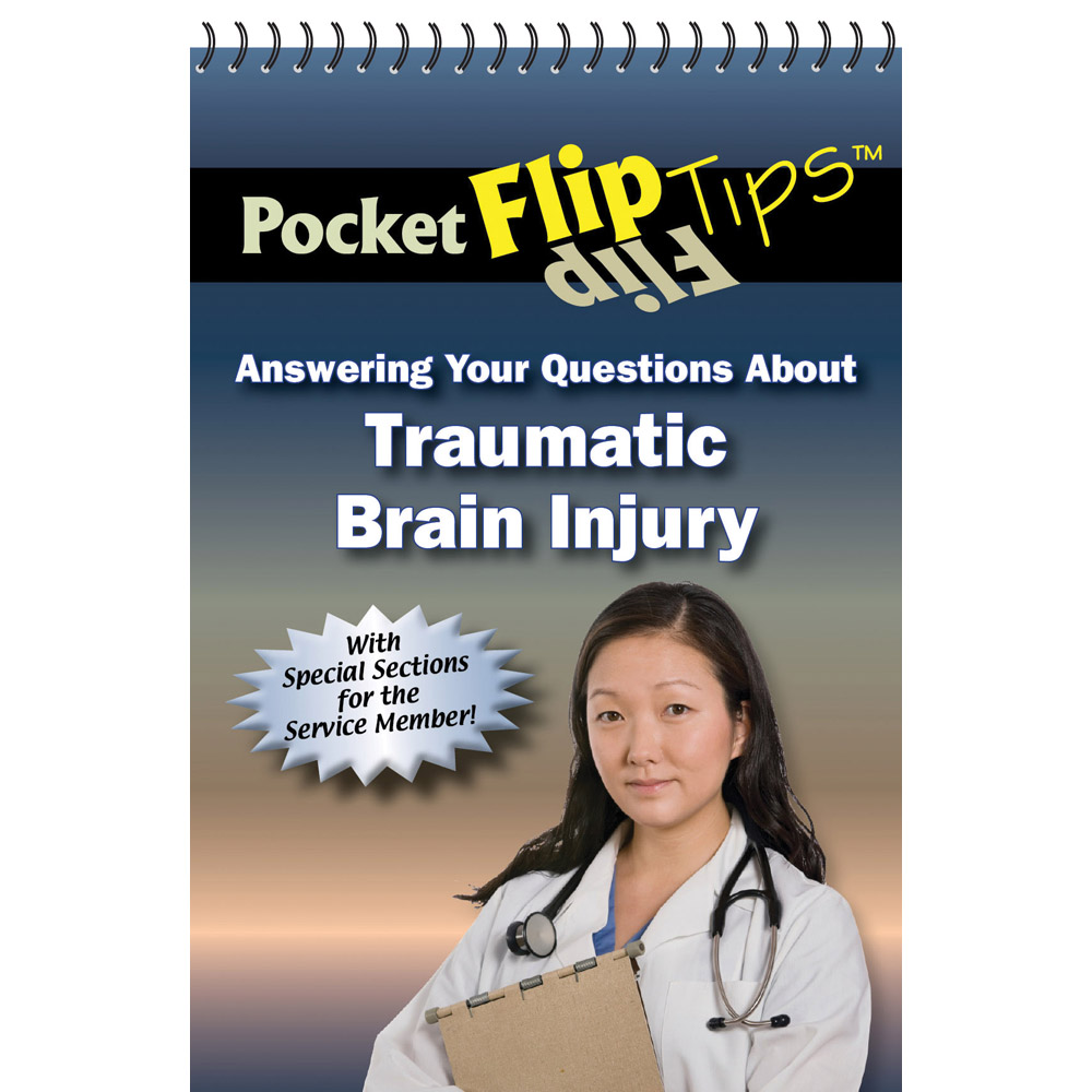 Pocket Flip Tip Book: (10 Pack) Answering Your Questions About Traumatic Brain Injury