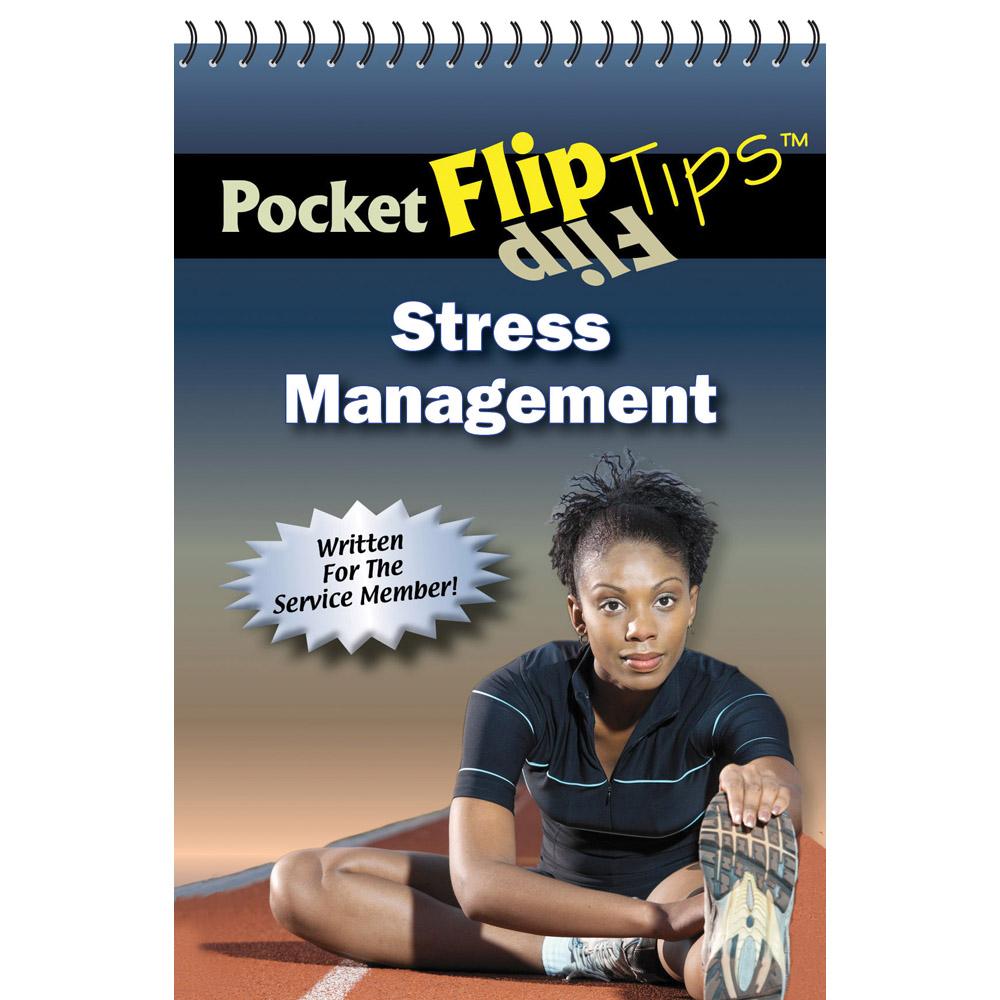 Pocket Flip Tip Book: (10 Pack) Stress Management
