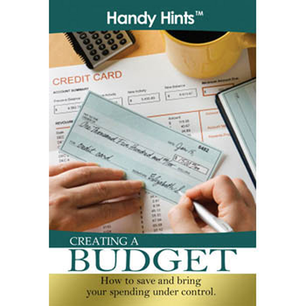 Handy Hints Foldout: (25 Pack) Creating a Budget
