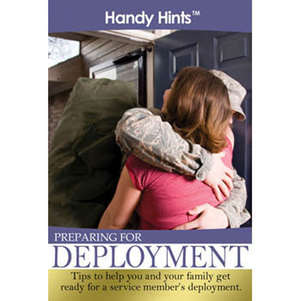 Handy Hints Foldout: (25 Pack) Preparing For Deployment