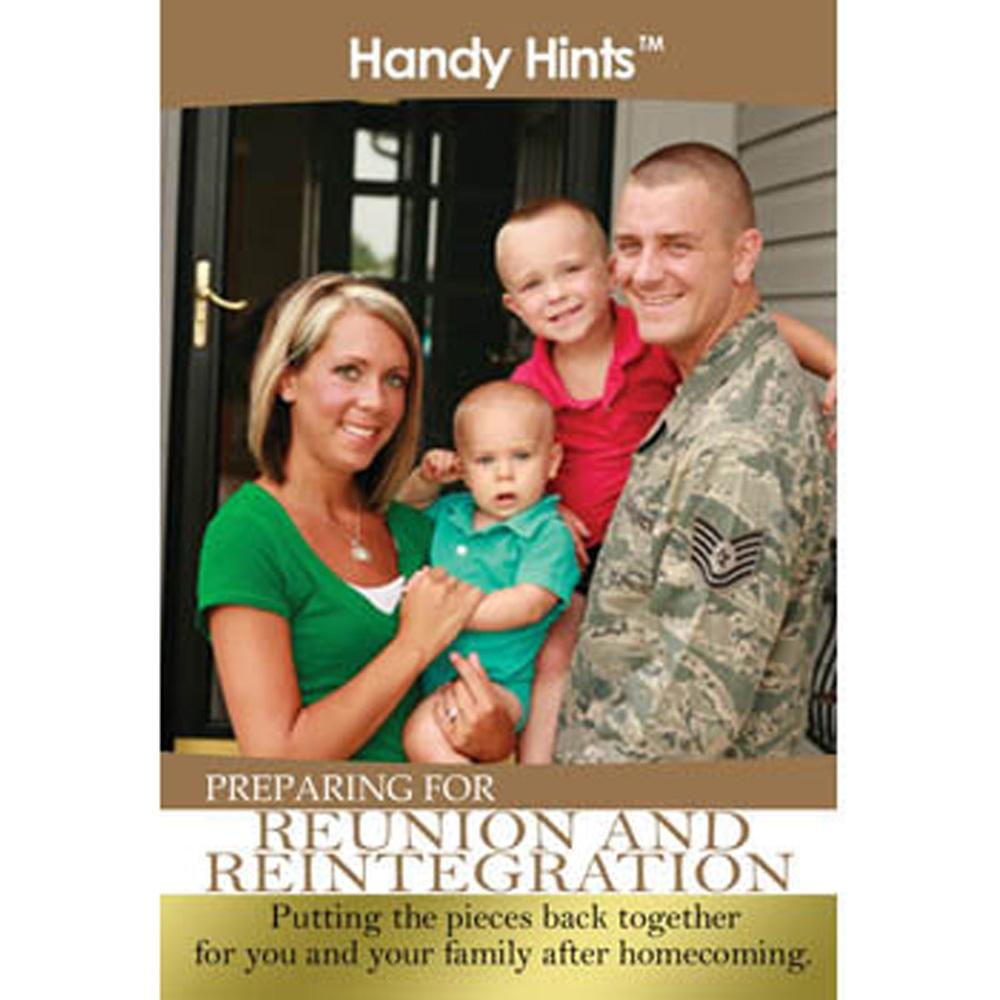 Handy Hints Foldout: (25 Pack) Preparing for Reunion & Reintegration