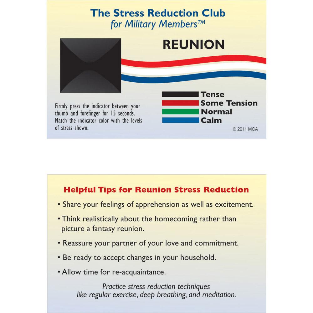 Stress Card: (25 Pack) Reunion