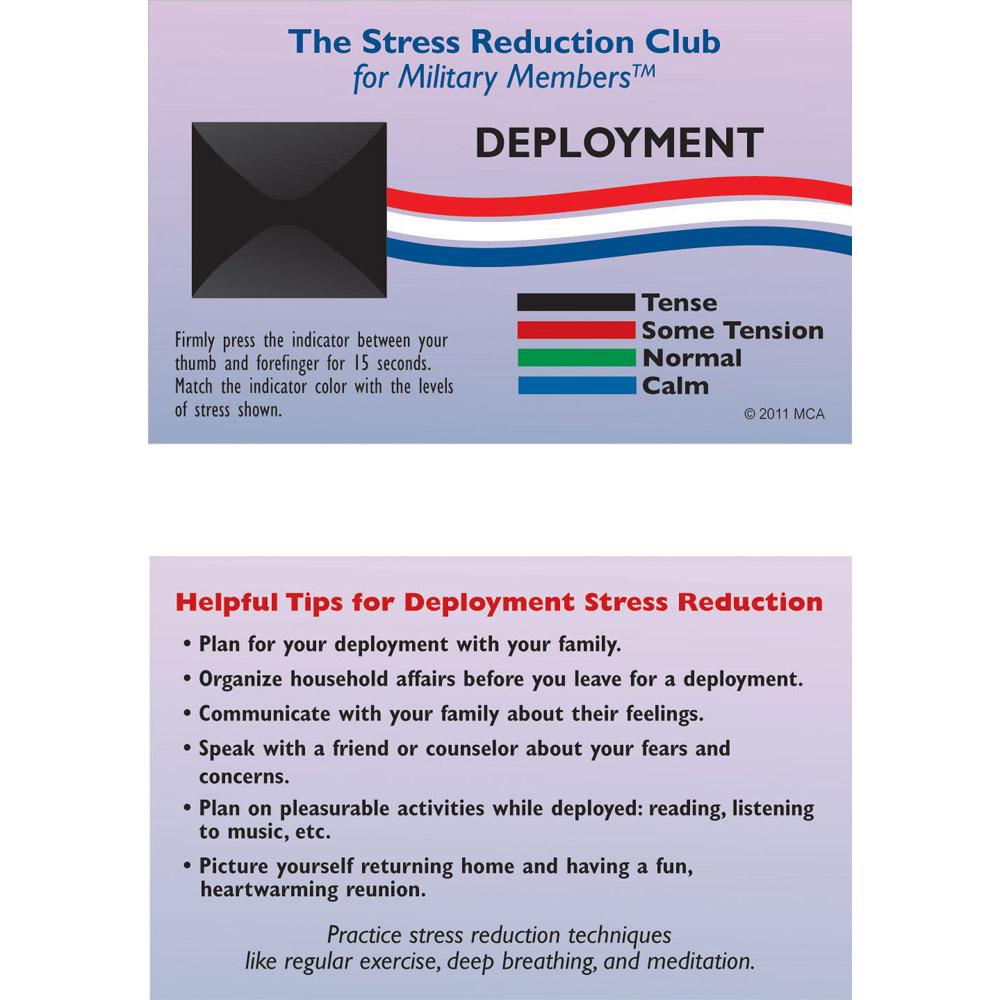 Stress Card: (25 Pack) Deployment