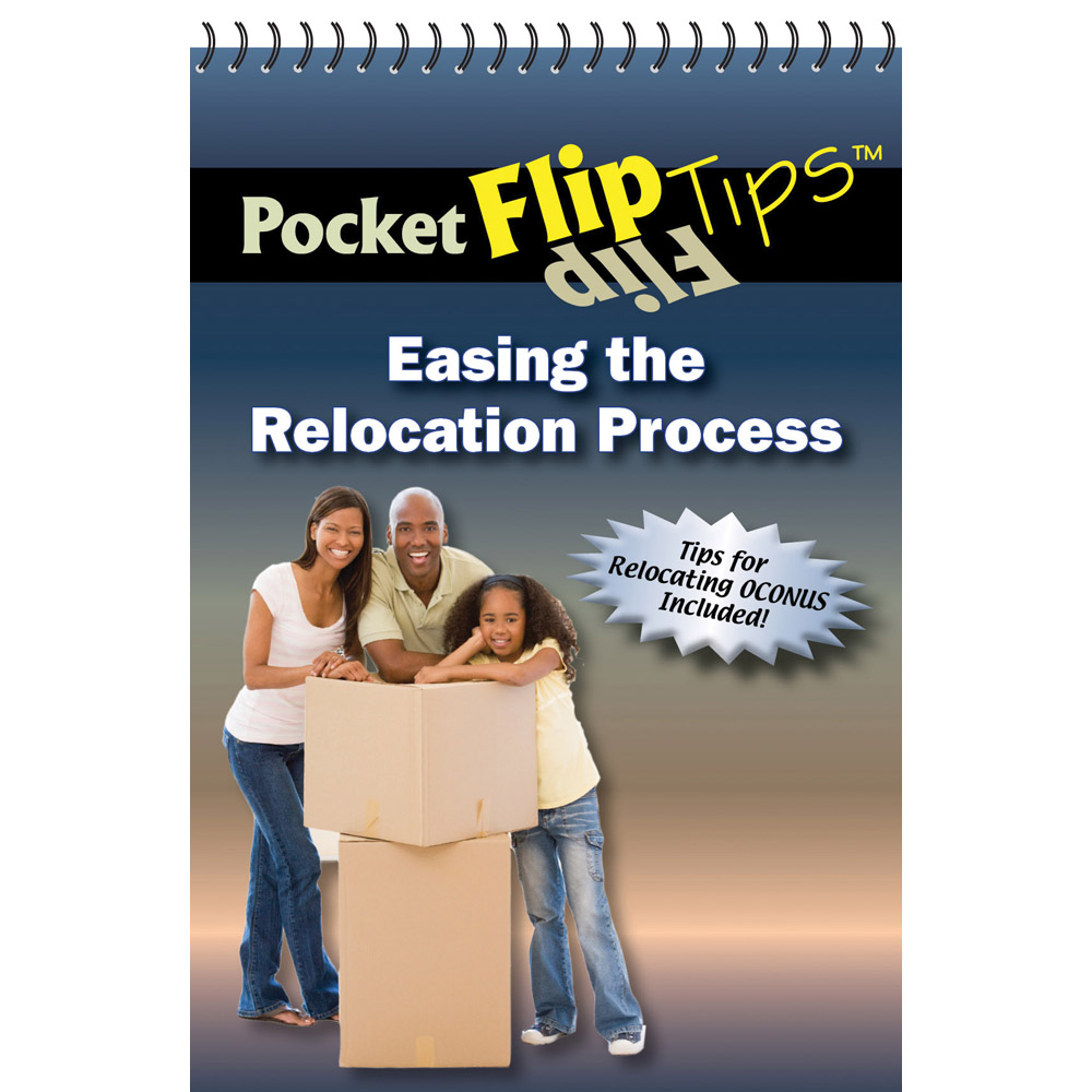 Pocket Flip Tip Book: (10 Pack) Easing the Relocation Process
