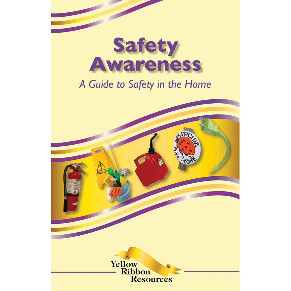 Yellow Ribbon Program Booklet: (25 pack) Safety Awareness   A Guide to Safety in the Home