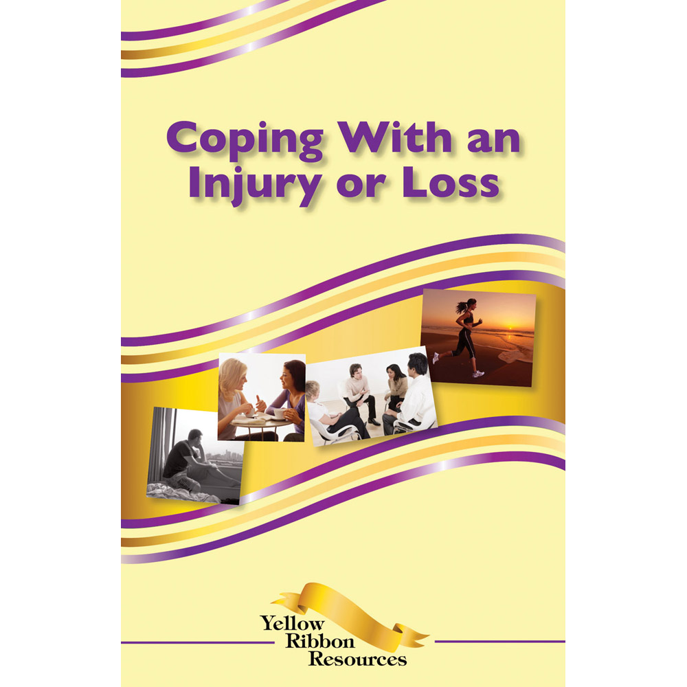 Yellow Ribbon Program Booklet: (25 pack) Coping with an Injury or Loss