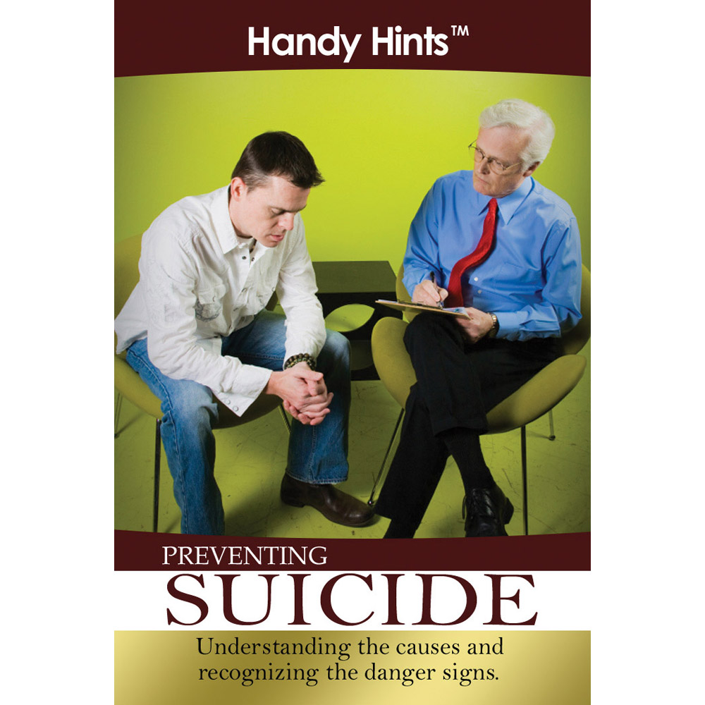 Handy Hints Foldout: (25 Pack) Preventing Suicide
