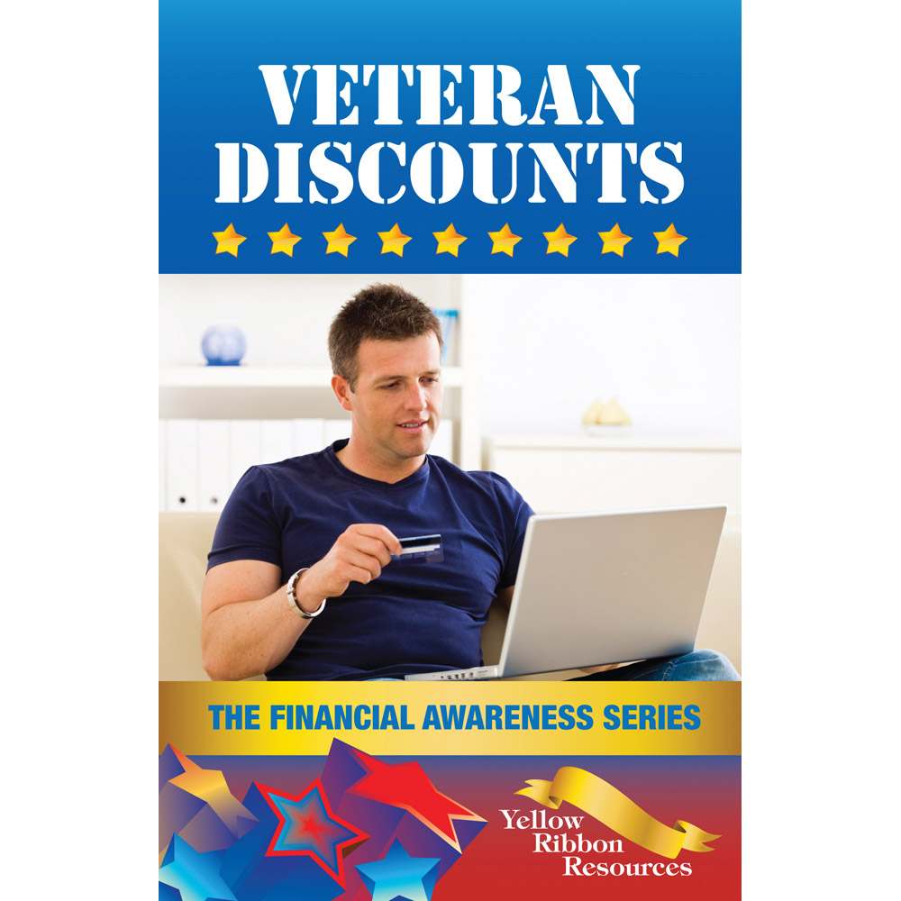 Yellow Ribbon Financial Awareness Booklet: (25 pack) Veteran Discounts