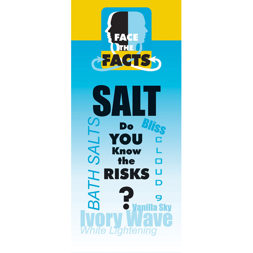 Face the Facts: (25 Pack) Salt Drug Prevention Pamphlet