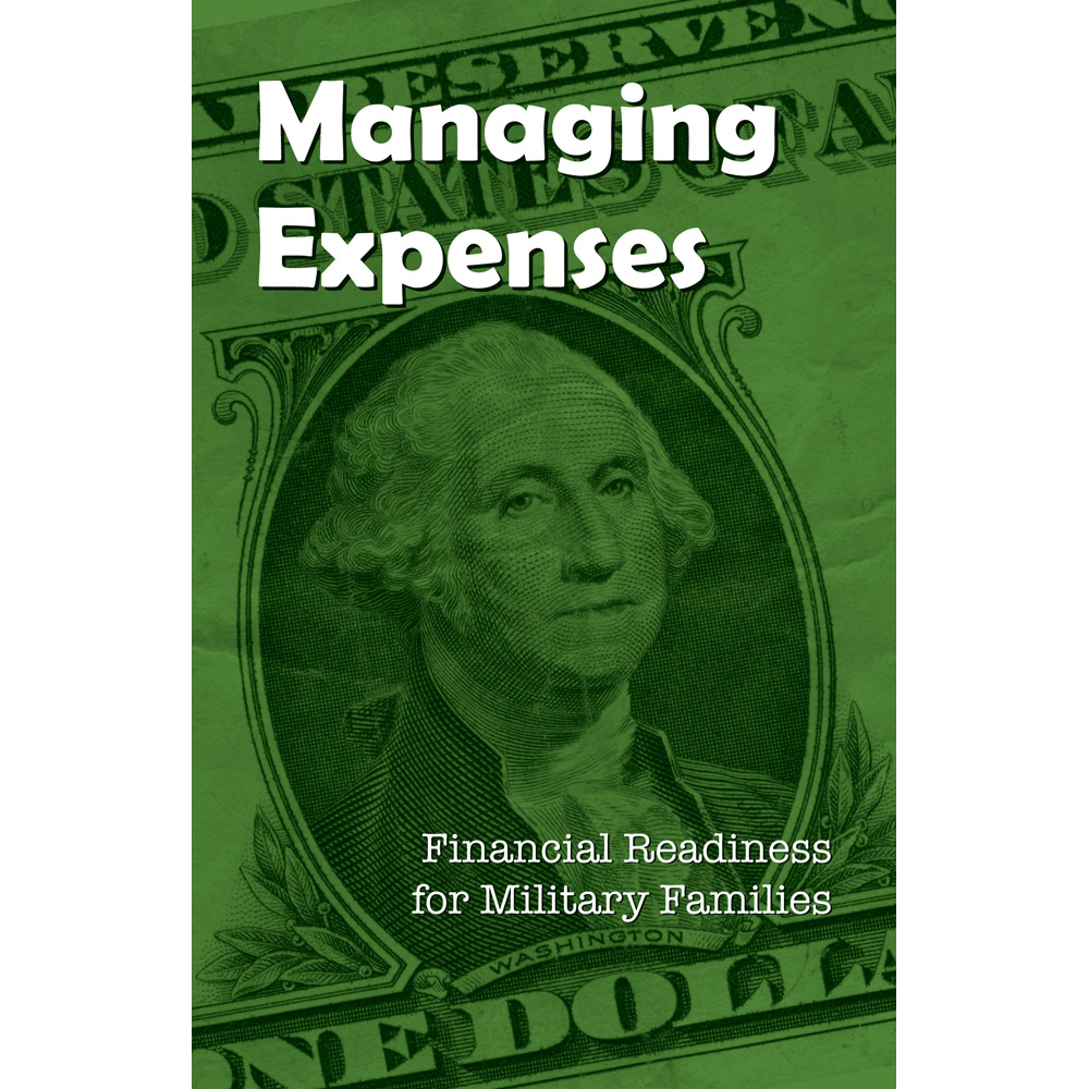 Financial Readiness Booklet: (25 Pack) Managing Expenses