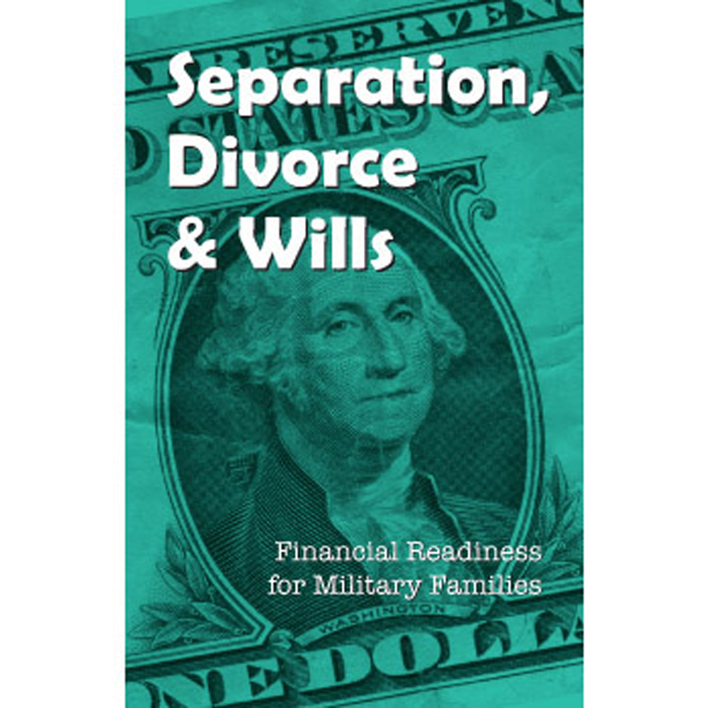 Financial Readiness Booklet: (25 Pack) Separation, Divorce & Wills