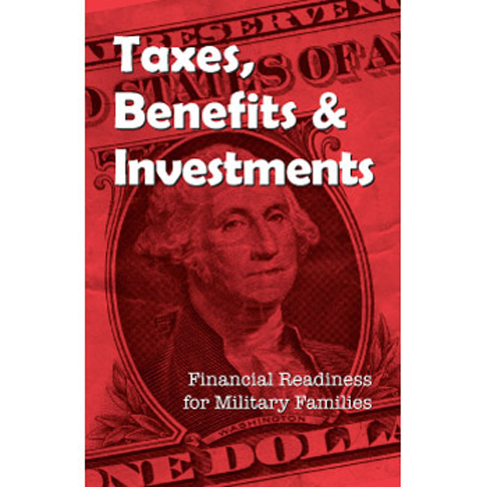 Financial Readiness Booklet: (25 Pack) Taxes, Benefits & Investments