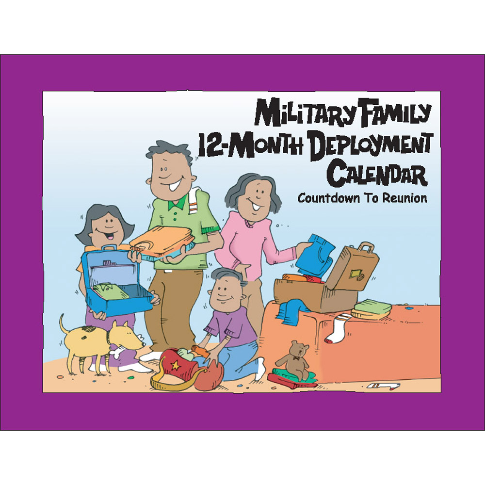 Military Family Deployment  (50 Pack) 12 Month Calendar