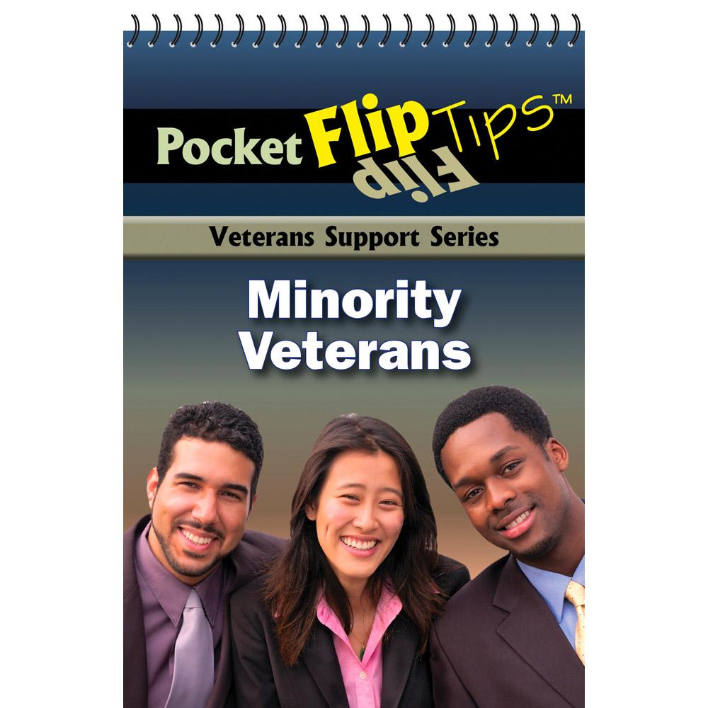 VA Pocket Flip Tip Book: (10 Pack) Minority Veterans