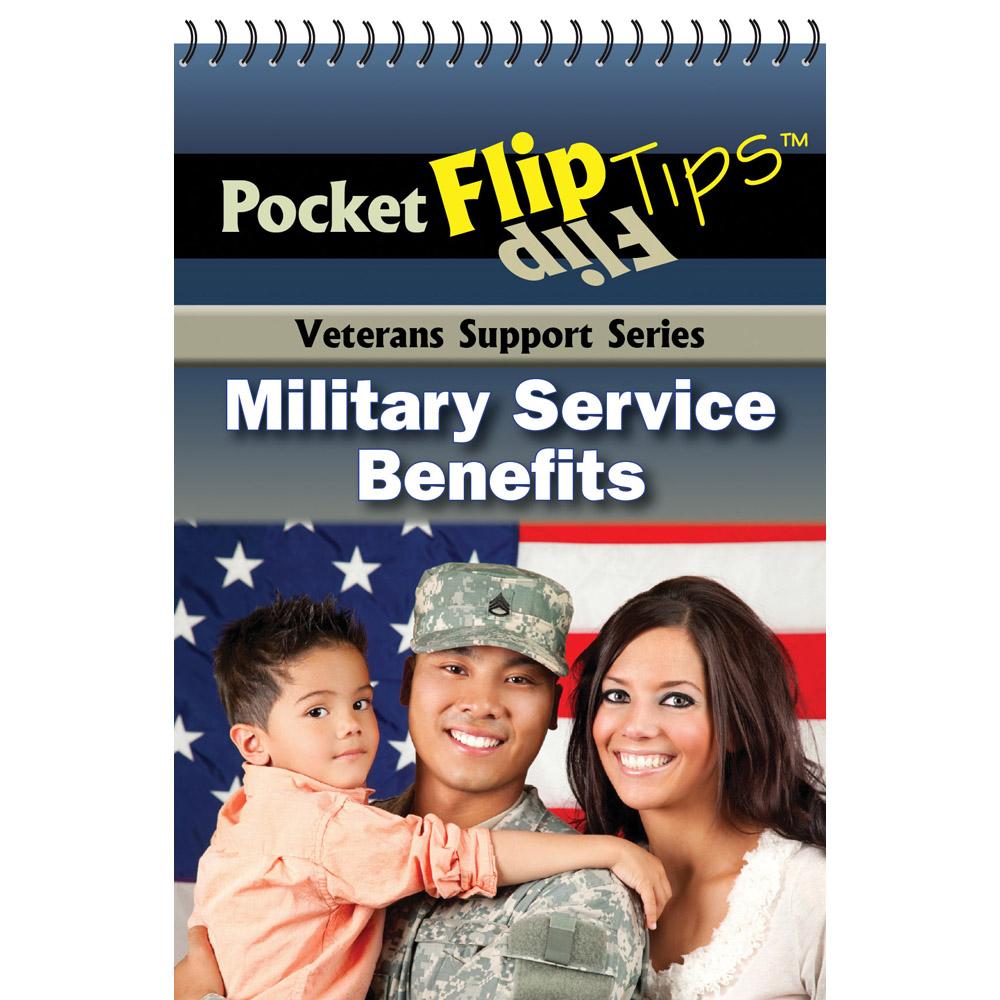 VA Pocket Flip Tip Book: (10 Pack) Military Service Benefits