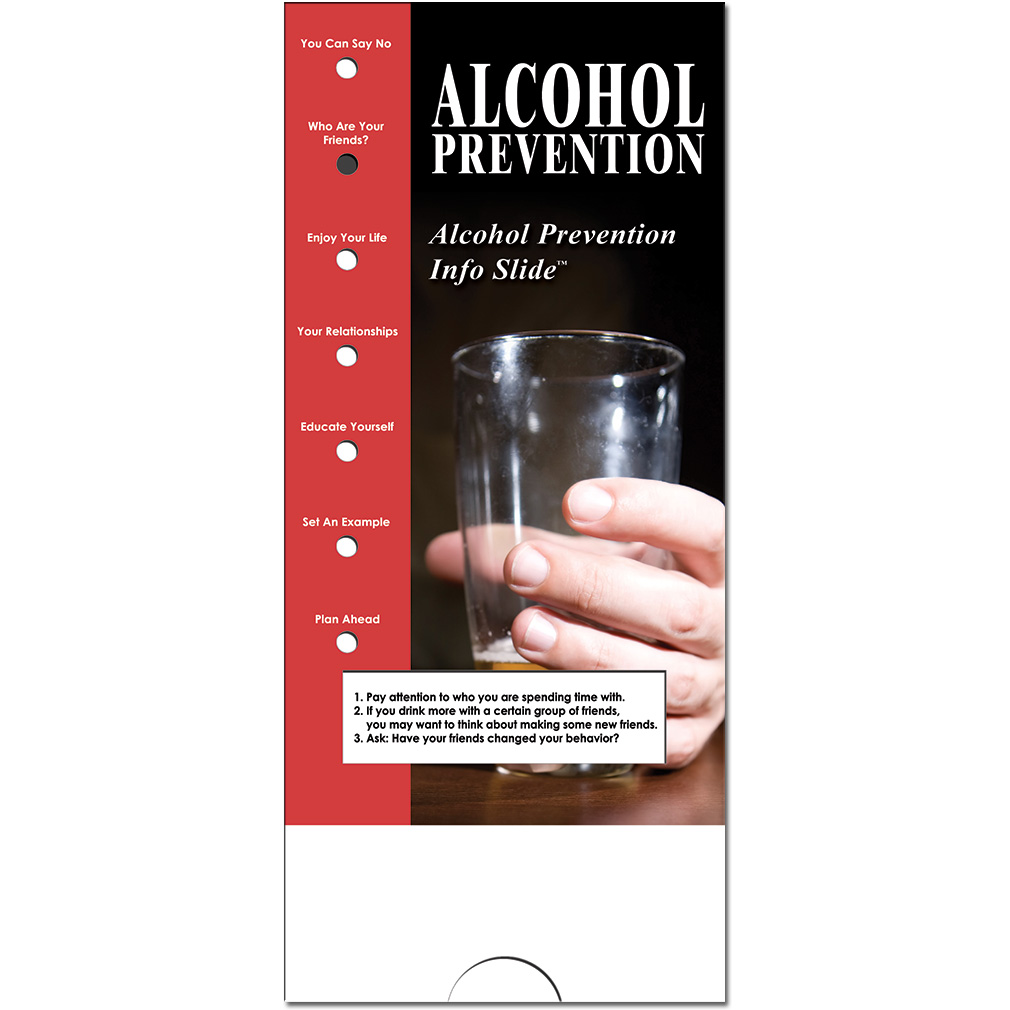 Military Info Slide: (25 Pack) Alcohol Prevention