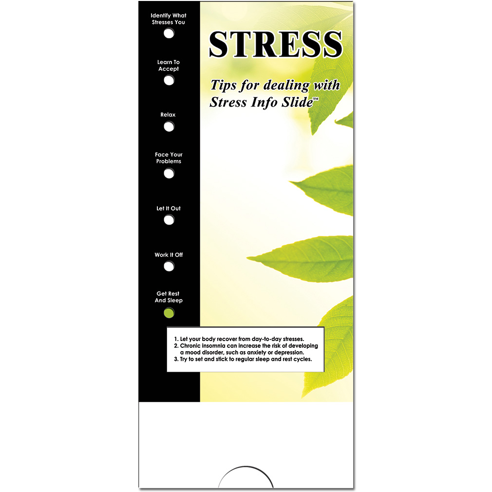 Military Info Slide: (25 Pack) Stress