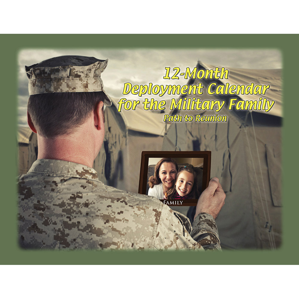 Military Family Deployment (50 Pack) 12 Month Calendar for Teens/Adults