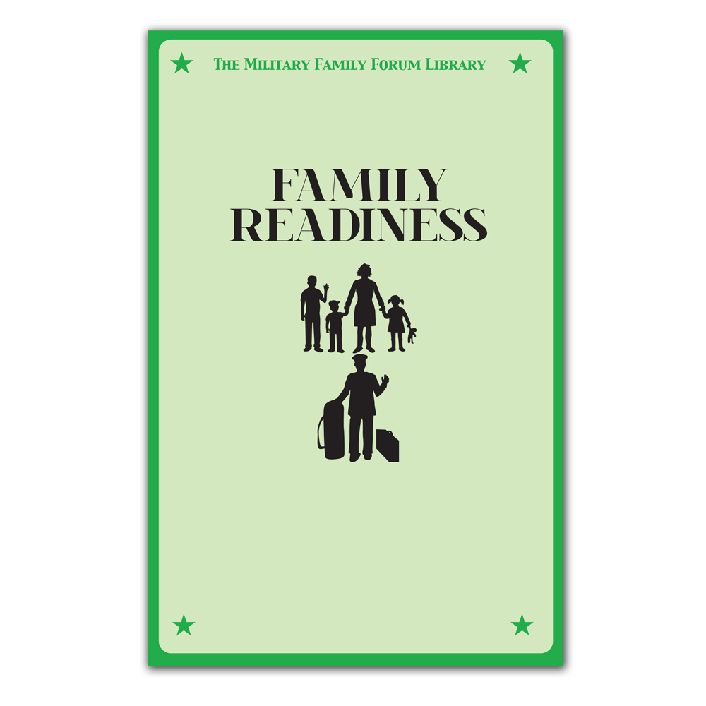 Military Family Forum Booklet: (25 Pack) Family Readiness