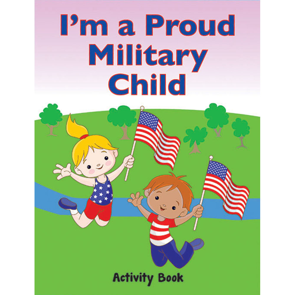 My Military Activity Book: (50 Pack) I'm a Proud Military Child