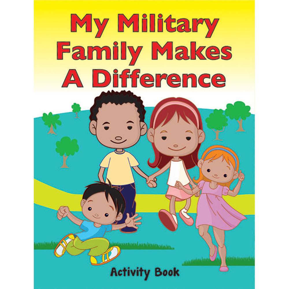 My Military Activity Book: (50 Pack) My Military Family Makes a Difference