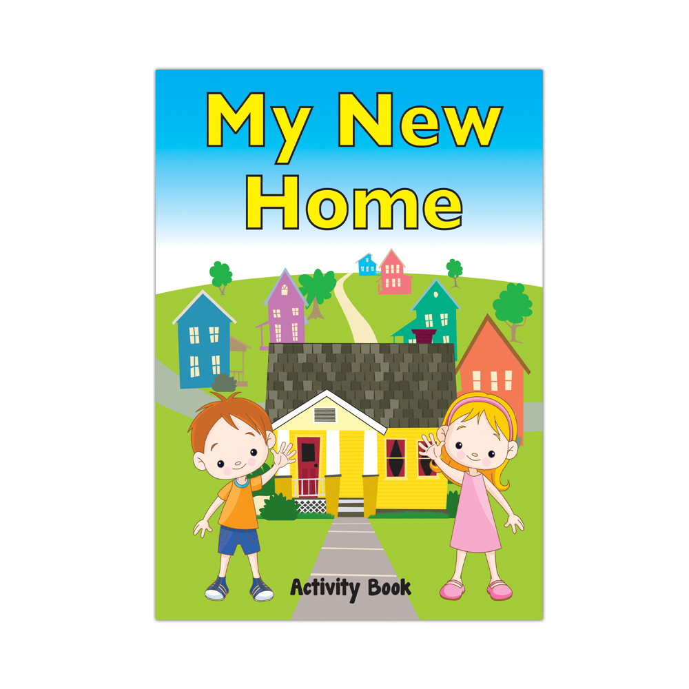 My Military Activity Book: (50 Pack) My New Home