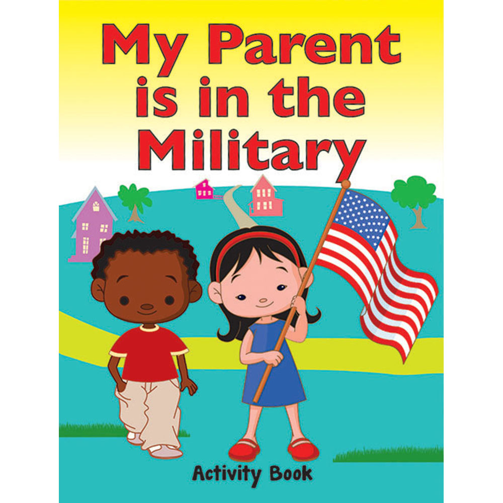 My Military Activity Book: (50 Pack)  My Parent is in the Military