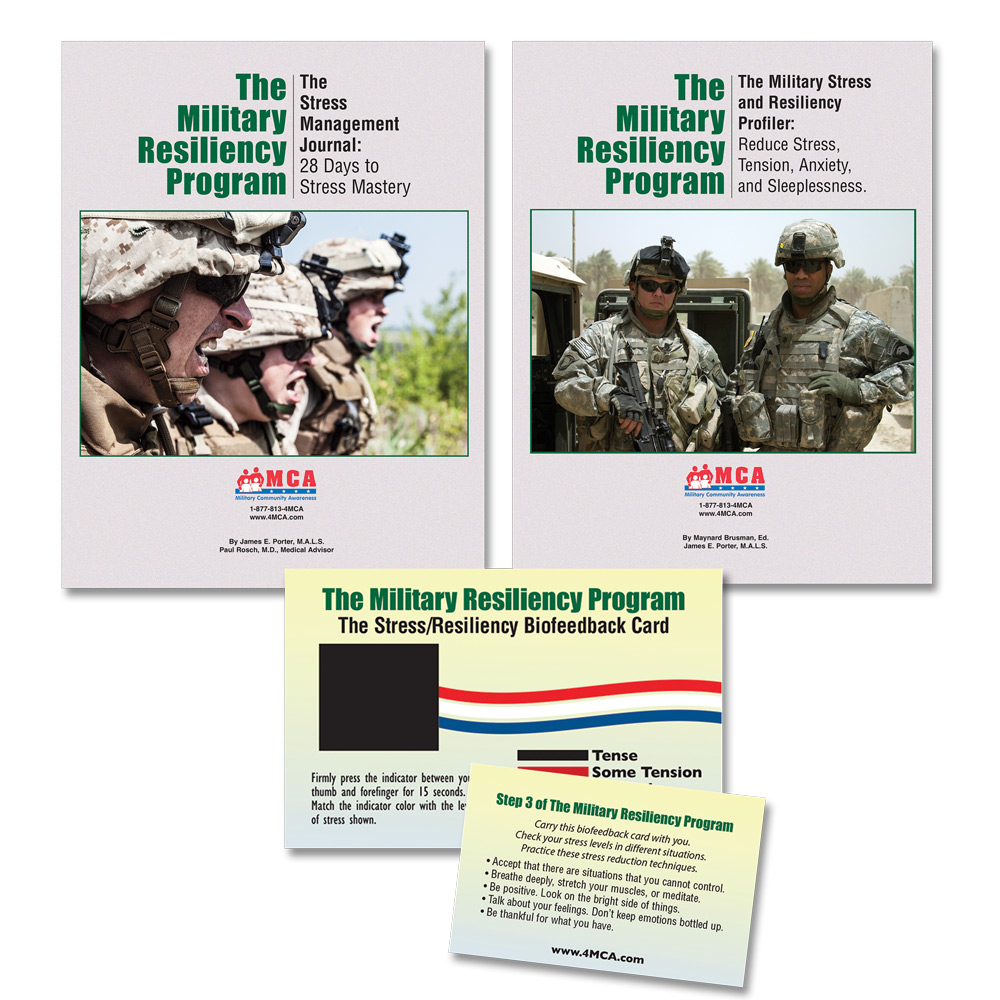 # 1 The Military Resiliency Program: Reduce Stress, Tension, Anxiety, Worry, and Sleeplessness