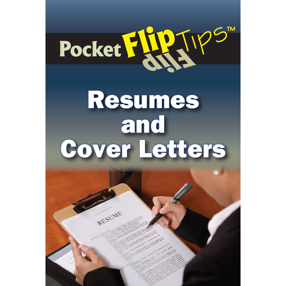 Pocket Flip Tip Book: (10 Pack)  Resumes and Cover Letters