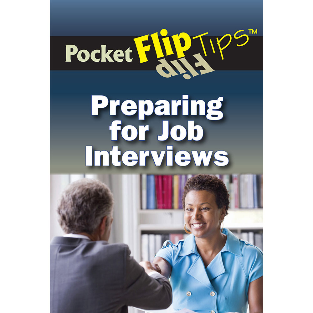 Pocket Flip Tip Book: (10 Pack) Preparing for Job Interviews