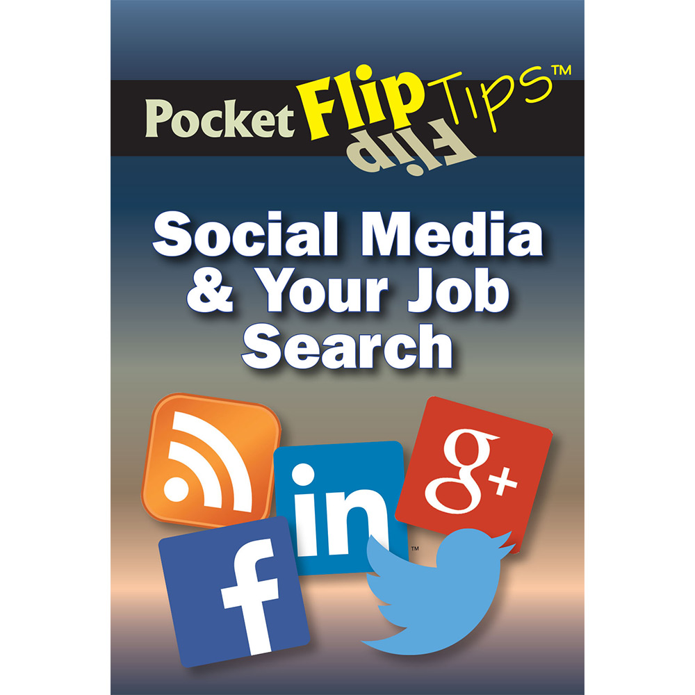 Pocket Flip Tip Book: (10 Pack)   Social Media & Your Job Search