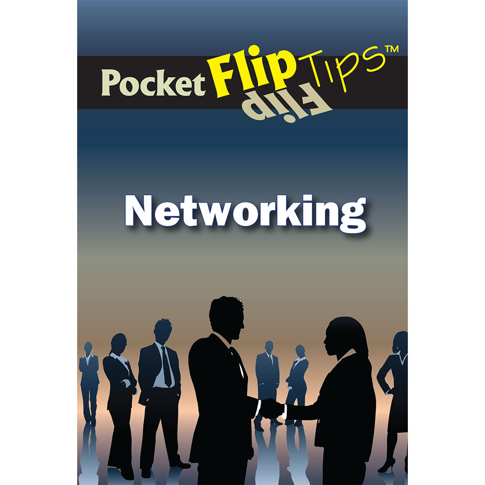 Pocket Flip Tip Book: Networking