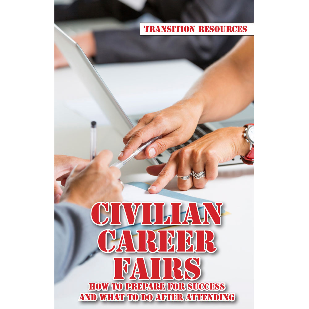 Transition Resources Booklet: (25 Pack) Civilian Career Fairs