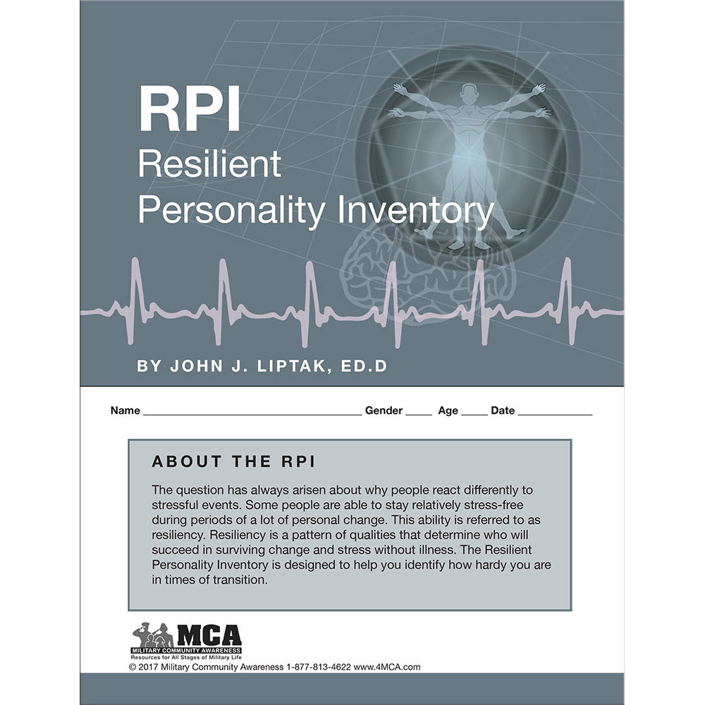 Resilient Personality Inventory (RPI) Self‑Assessment