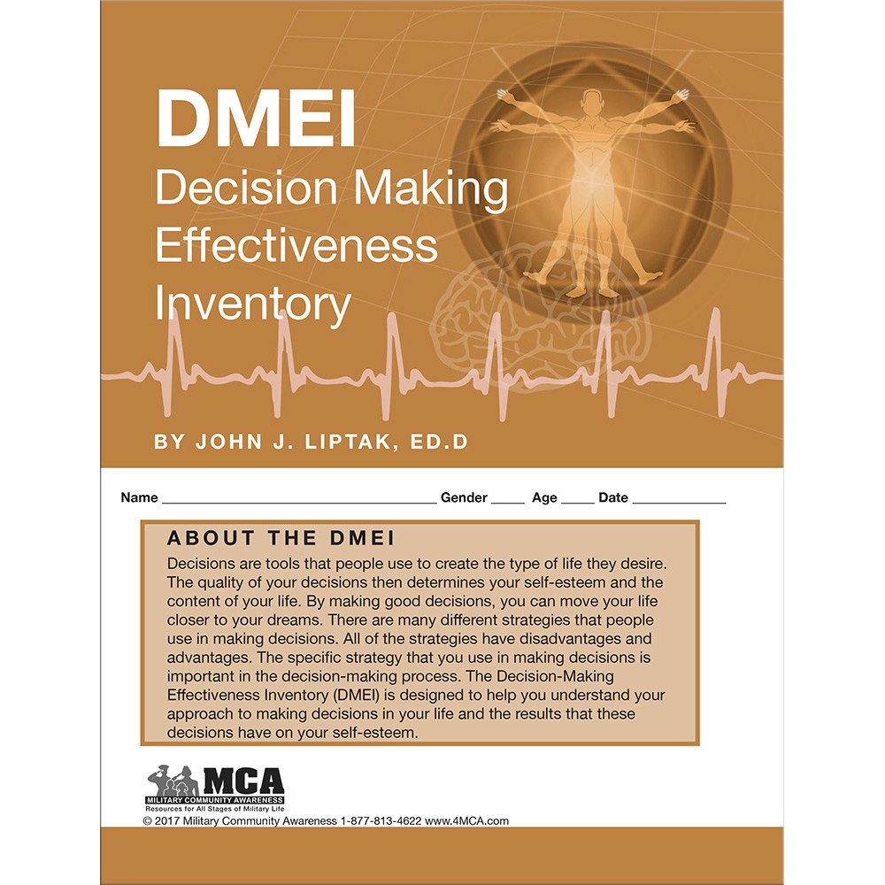 Decision‑Making Effectiveness Inventory (DMEI) Self‑Assessment