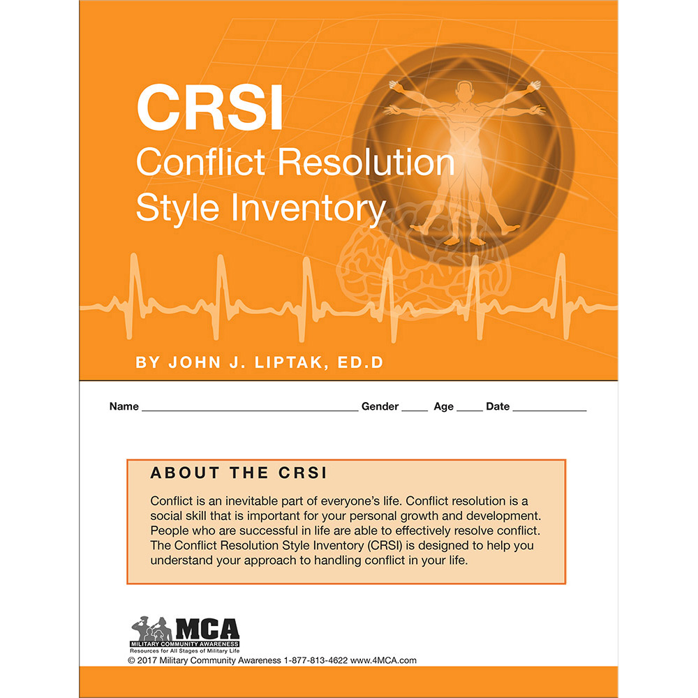 CRSI   Conflict Resolution Style Inventory