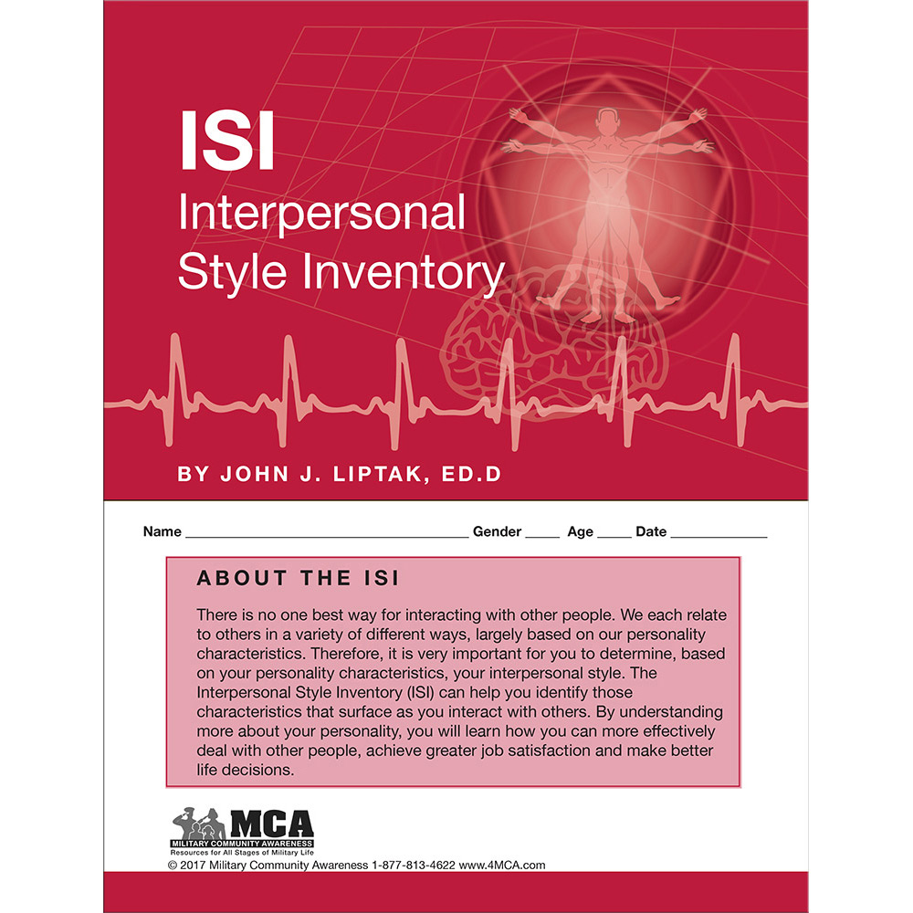 Interpersonal Style Inventory (ISI) Self‑Assessment