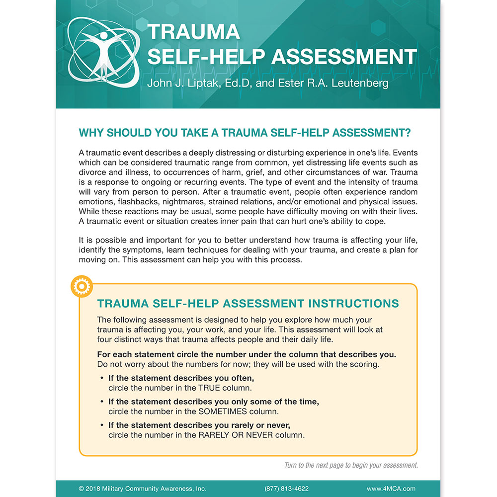 Trauma Self Help Assessment