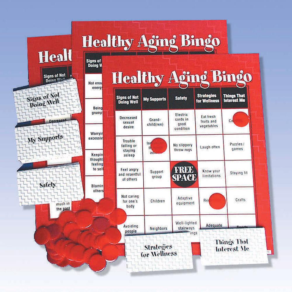 Healthy Aging Bingo