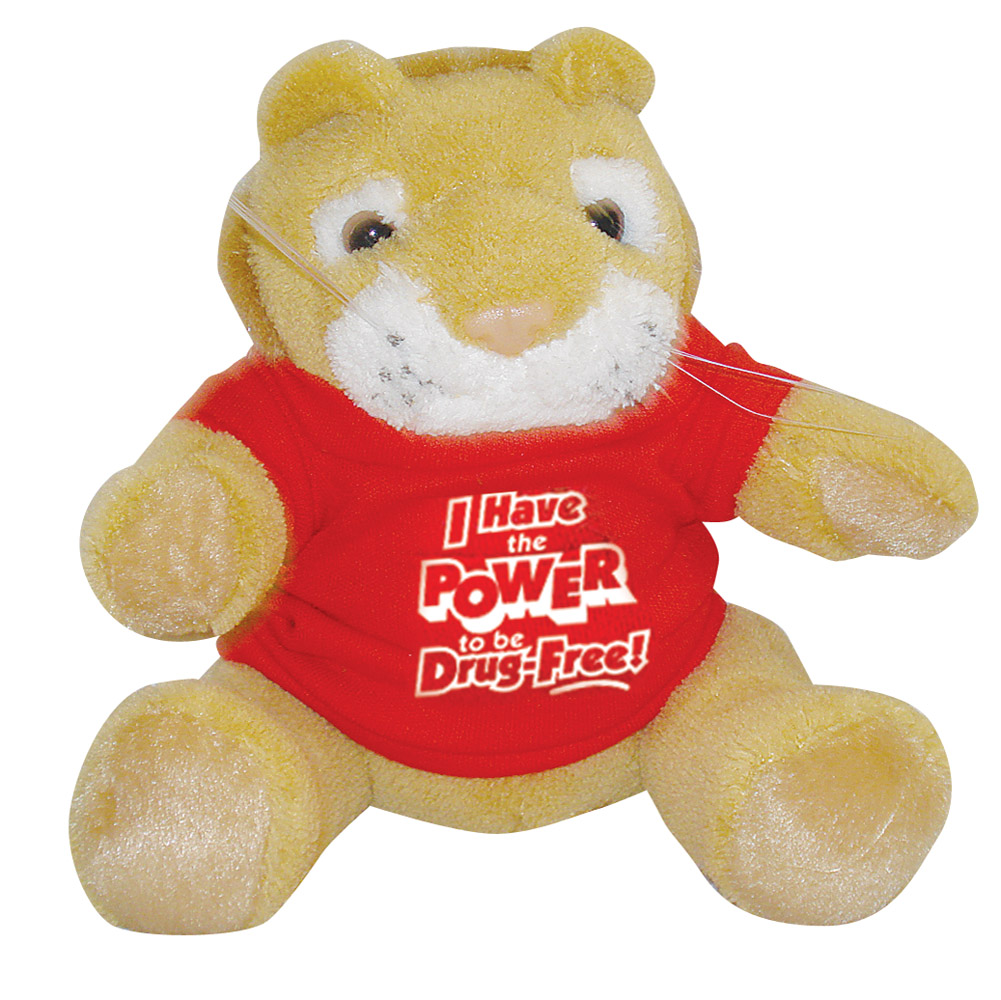 I Have the POWER to be Drug Free! Stuffed Lion
