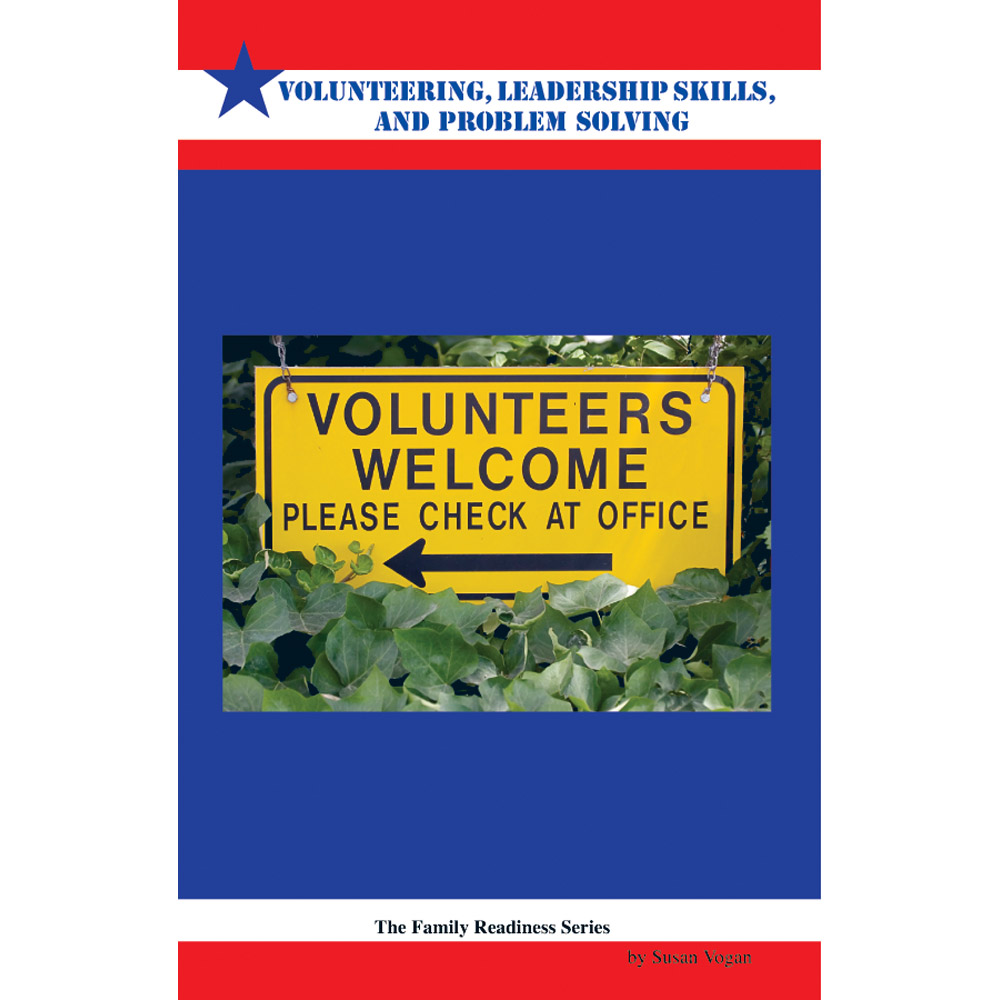 Family Readiness Booklet: (25 Pack) Volunteering, Leadership Skills, and Problem Solving