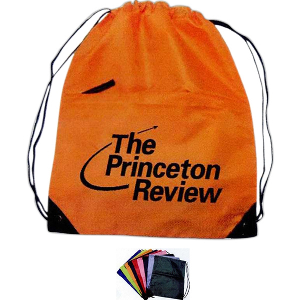 Nylon Drawstring Tote Bag
