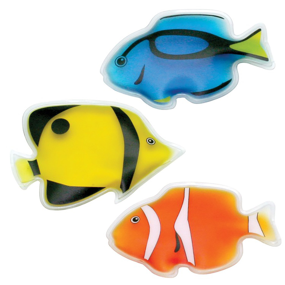 Fish Shaped Gel Filled Chill Patches