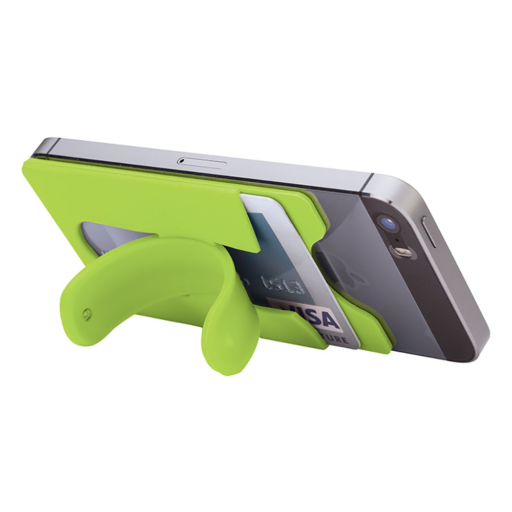 Silicone Phone/Wallet Stand