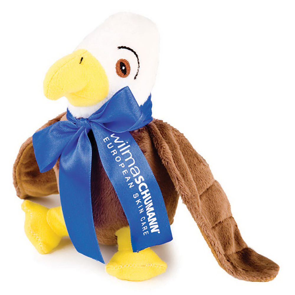 "8"" Eagle With Ribbon or Bandana"