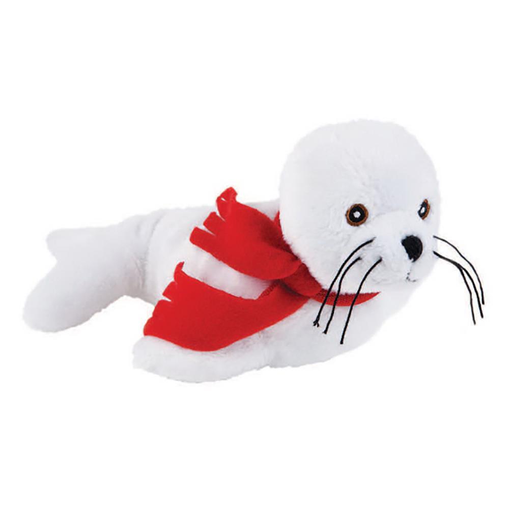 "8"" Beanie Seal With Ribbon or Bandana"