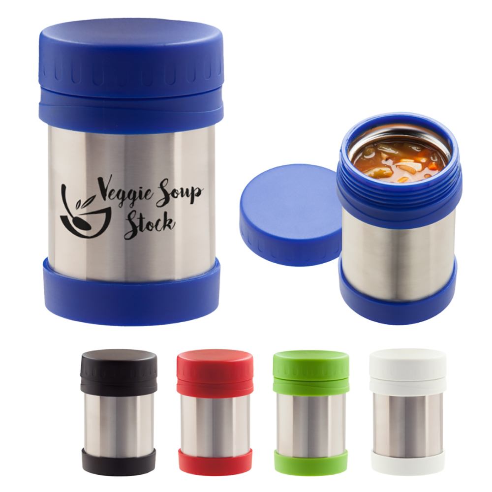 12 oz Stainless Steel Insulated Food Container